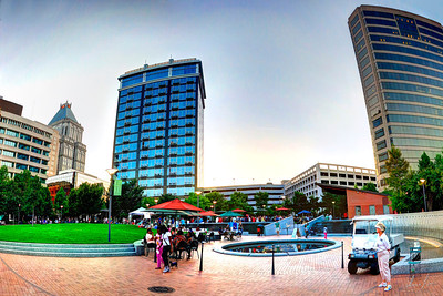 GSO Center City Park first Friday